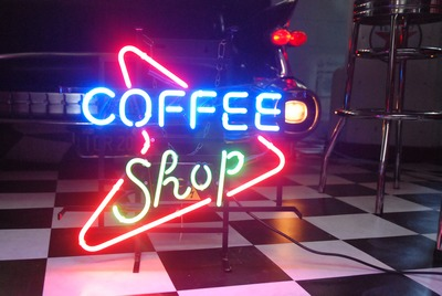 Coffee Shop neon signing