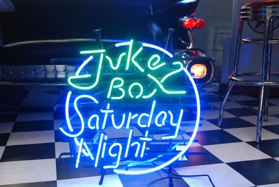 Juke Box Saturday Night - neon sign