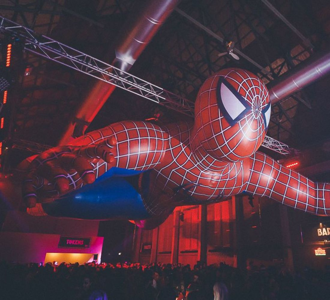 Spiderman inflatable